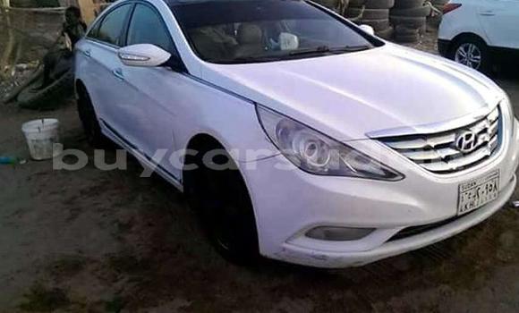 Buy Used Hyundai Sonata White Car in Khartoum in Khartoum