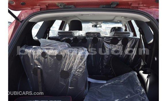 Buy Import Hyundai Santa Fe Red Car in Import - Dubai in Al Jazirah State
