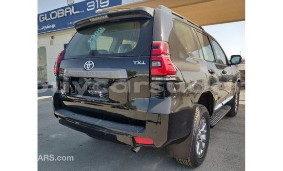 Buy Import Toyota Prado Black Car in Import - Dubai in Al Jazirah State