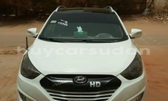 Buy Used Hyundai Tucson White Car in Khartoum in Khartoum