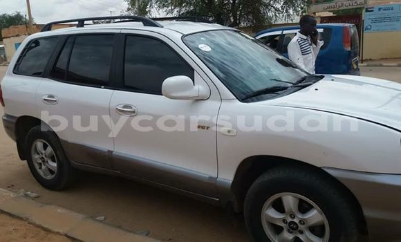 Buy Used Hyundai Santa Fe White Car in Khartoum in Khartoum