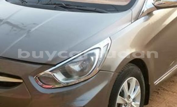 Buy Used Hyundai Accent Brown Car in Khartoum in Khartoum
