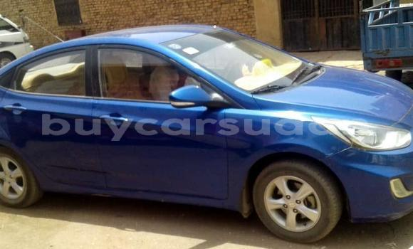 Buy Used Hyundai Accent Blue Car in Khartoum in Khartoum