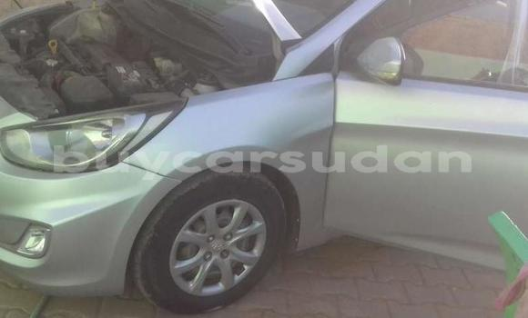 Buy Used Hyundai Accent Silver Car in Khartoum in Khartoum
