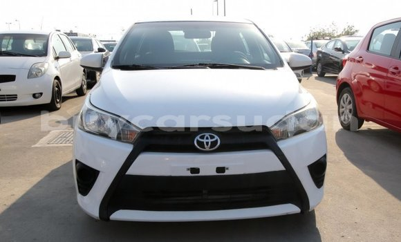 Buy Import Toyota Yaris White Car in Import - Dubai in Al Jazirah State