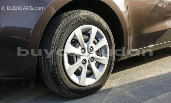 Buy Import Kia rio Brown Car in Import - Dubai in Al Jazirah State