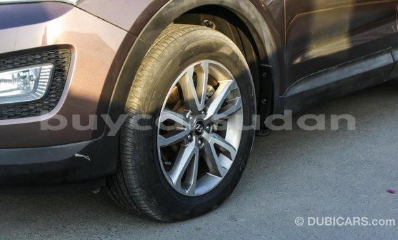 Buy Import Hyundai Santa Fe Brown Car in Import - Dubai in Al Jazirah State