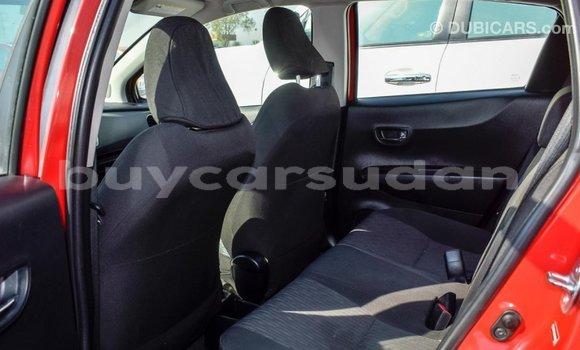 Buy Import Toyota Yaris Red Car in Import - Dubai in Al Jazirah State