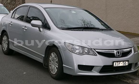 Buy Used Honda Civic White Car in al–Khartum in al-Khartum