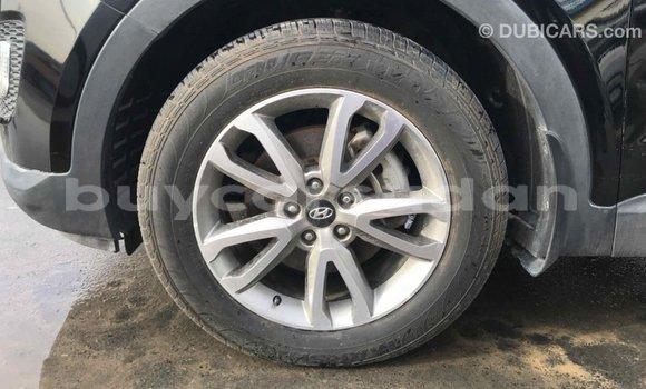 Buy Import Hyundai Santa Fe Black Car in Import - Dubai in Al Jazirah State