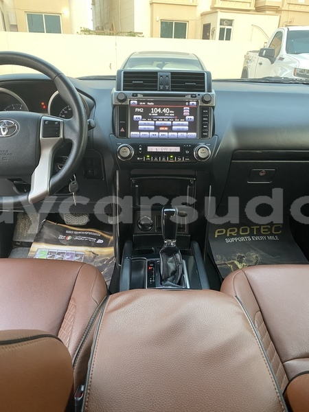 Big with watermark toyota prado al jazirah state import dubai 3389
