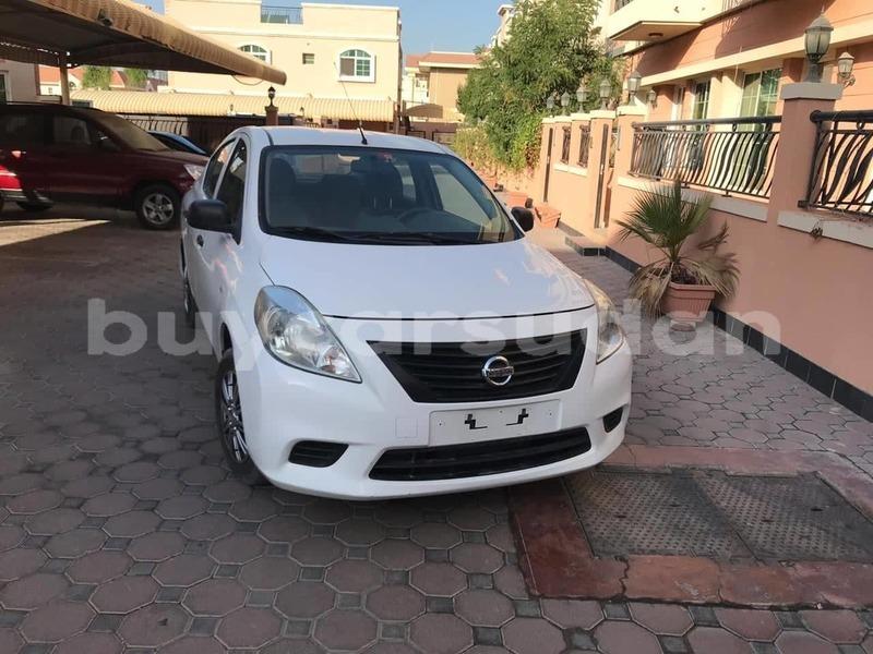 Buy Used Nissan Sunny White Car In Al Khartum In Al Khartum