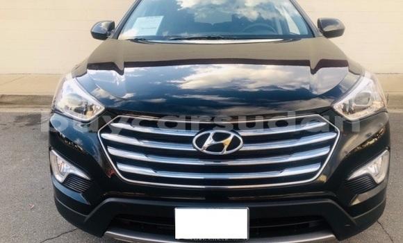 Buy Import Hyundai Santa Fe Black Car in ad–Duwaym in an-Nil-al-Abyad