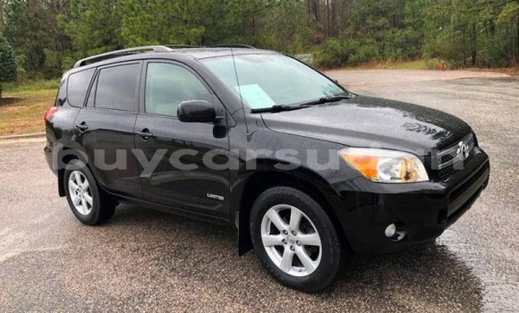 Buy Import Toyota RAV4 Black Car in al–Karaymat in al-Jazirah