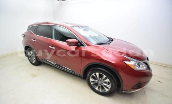 Buy Import Nissan Murano Red Car in al–Qutaynah in an-Nil-al-Abyad