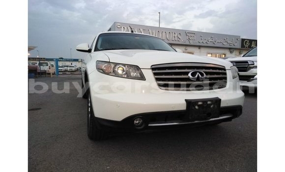 Buy Import Infiniti FX White Car in Import - Dubai in Al Jazirah State
