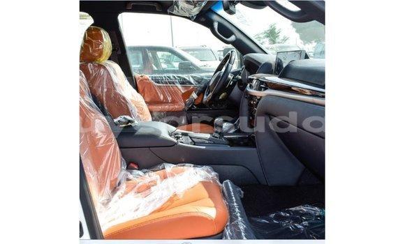 Buy Import Lexus LX White Car in Import - Dubai in Al Jazirah State