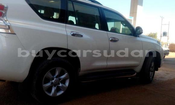 Buy Used Toyota Land Cruiser Prado White Car in Al Qadarif in Al Qadarif State