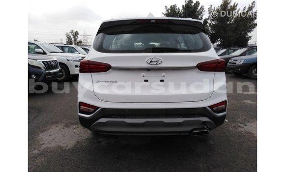 Buy Import Hyundai Santa Fe White Car in Import - Dubai in Al Jazirah State